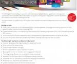 Marketing Digital Tendances 2014 Rapport Adobe