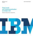 Tout savoir sur la personnalisation en temps réel – IBM