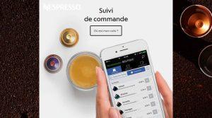 site e-commerce Nespresso