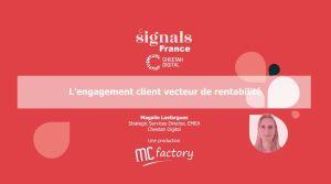 Engagement client rentabilité