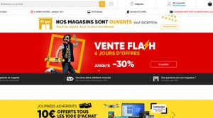 E-commerce Fnac Darty